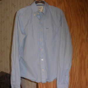 Abercrombie & Fitch Men's M Muscle Button Up Shirt